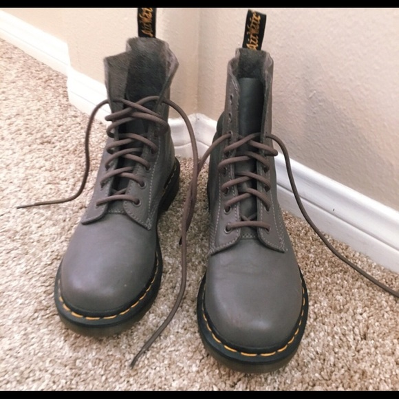 coupon code quality first exceptional range of styles and colors Like New Doc Martens Grey sz 7.5 women's